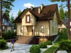 Проект дома с подвалом и мансардой